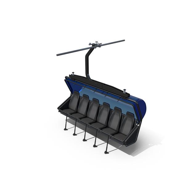Ski Lift Seat PNG & PSD Images