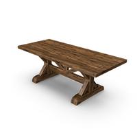 Wood Table Pedestal PNG & PSD Images