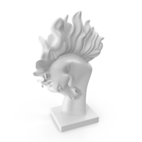 Stallion Head Statue PNG & PSD Images
