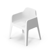 Pedrali Plus White Chair PNG & PSD Images