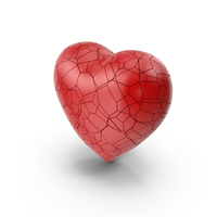 Cracked Heart PNG & PSD Images