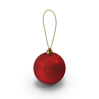 Christmas Red Ball PNG & PSD Images
