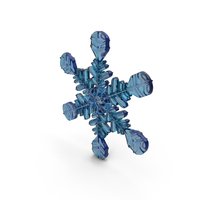 Snowflake Blue PNG & PSD Images
