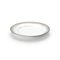 Marin White Dinner Plate PNG & PSD Images