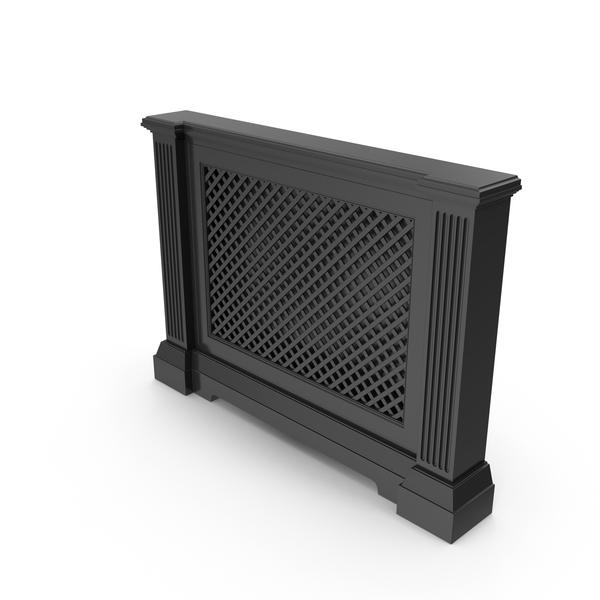 Radiator Black Screen PNG & PSD Images