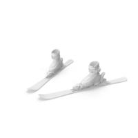 Alpine Shoes & Ski Grey Snowplough PNG & PSD Images