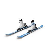 Elan Skis' Alpine Skis Turning PNG & PSD Images