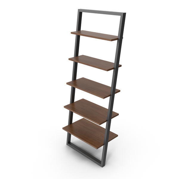 Theophanes 2 Tone Ladder Bookcase PNG & PSD Images