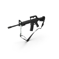 M16A2 Rifle PNG & PSD Images