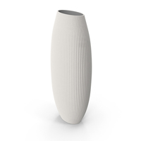 Alura Cream Tall Vase PNG & PSD Images