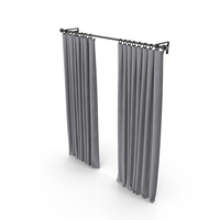 Pottery Barn Curtain PNG & PSD Images