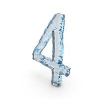 Icy Water Number 4 PNG & PSD Images