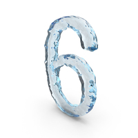 Icy Water Number 6 PNG & PSD Images