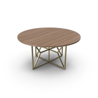 Hayes Acacia Dining Table PNG & PSD Images