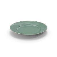 Marin Aqua Dinner Plate PNG & PSD Images