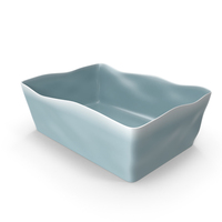 Marin Blue 10x7 Baking Dish PNG & PSD Images