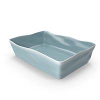 Marin Blue 5x10 Baking Dish PNG & PSD Images