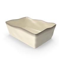 Marin Cream 10x7 Baking Dish PNG & PSD Images
