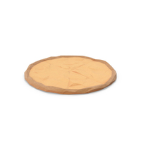 Low Poly Cheese Pizza PNG & PSD Images