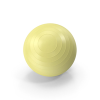 Pilates Ball Yellow PNG & PSD Images