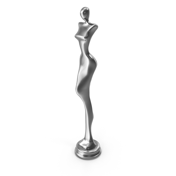 Woman Statue Steel PNG & PSD Images