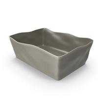 Marin Grey 10x7 Baking Dish PNG & PSD Images