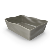 Marin Grey 12x8.5 Baking Dish PNG & PSD Images