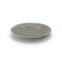 Marin Grey Dinner Plate PNG & PSD Images