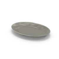 Marin Grey Serving Platter PNG & PSD Images