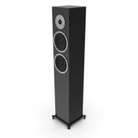 Floor Speaker Black PNG & PSD Images