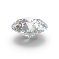 Round Cut Diamond PNG & PSD Images