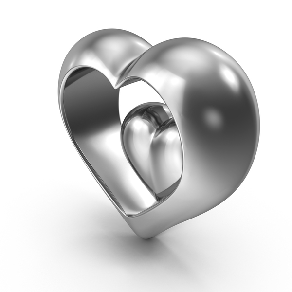 Heart Steel PNG & PSD Images