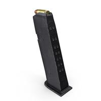 Glock 17 9MM Pistol Magazine PNG & PSD Images