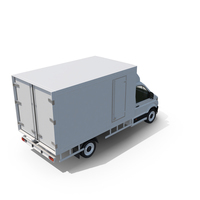 European Box Truck PNG & PSD Images