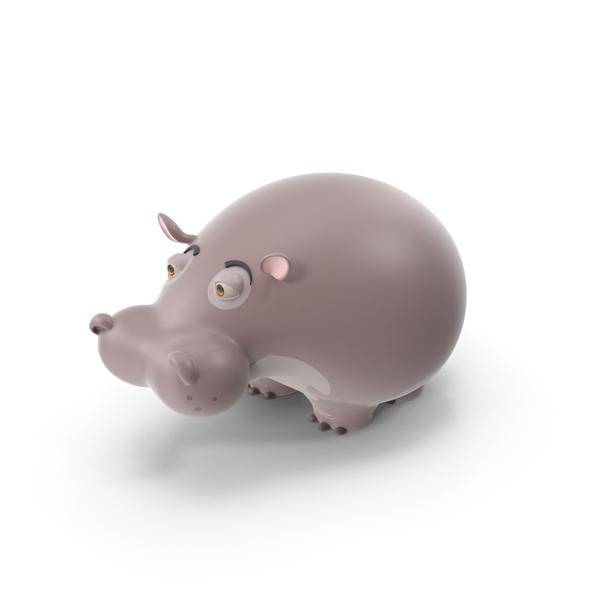 Cartoon Hippo PNG & PSD Images
