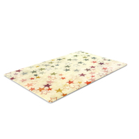 Rug with Stars PNG & PSD Images