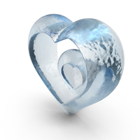 Ice Heart PNG & PSD Images