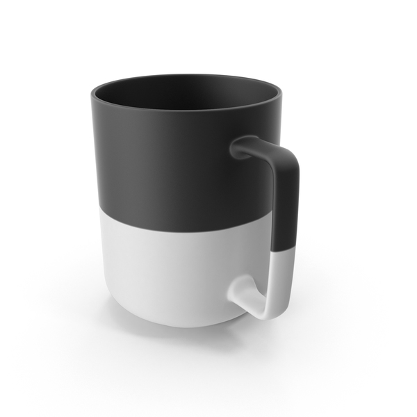 Large Dipped Mug PNG & PSD Images