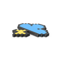 Pixelated Thunderstorm Icon PNG & PSD Images
