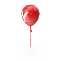 Letter Y Balloon PNG & PSD Images