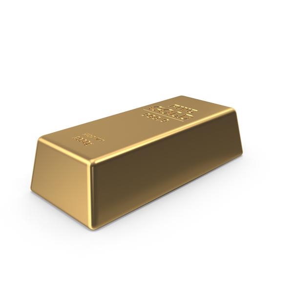 Gold Ingot PNG & PSD Images