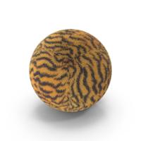 Tiger Fur Ball PNG & PSD Images