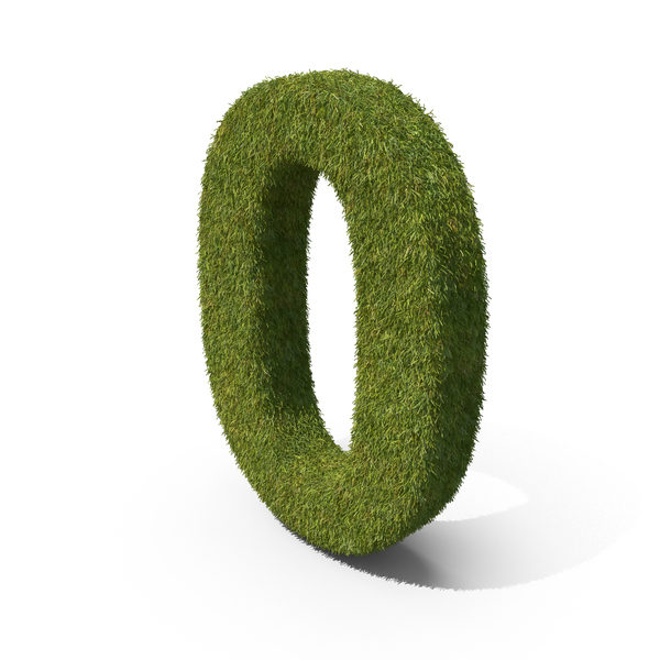 Grass Number Zero PNG & PSD Images