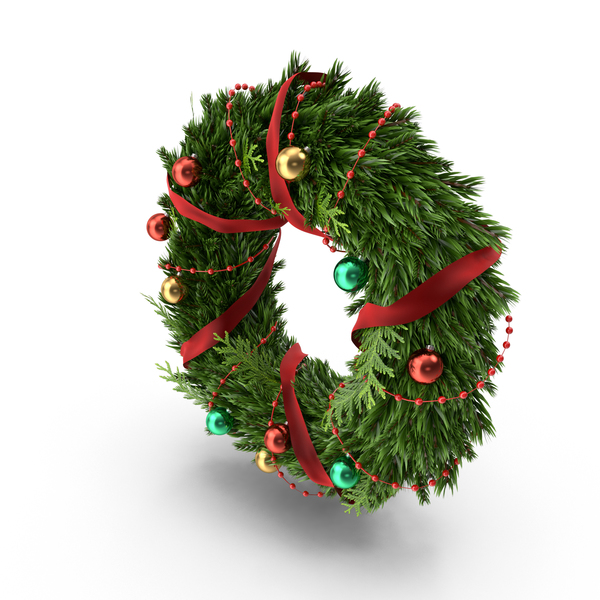 Christmas Wreath PNG & PSD Images