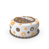 Birthday Cake Brown PNG & PSD Images