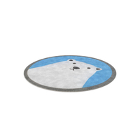 Round Bear Rug PNG & PSD Images