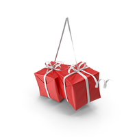 Christmas Presents Decoration PNG & PSD Images