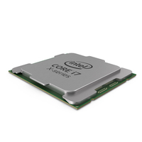 CPU i7 X Series PNG & PSD Images