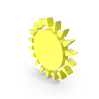 Sunny Meteorology Symbol PNG & PSD Images