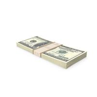 Stack of 100 Dollar Bills PNG & PSD Images